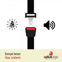 Emniyet kemeri ikaz / uyarı sistemi